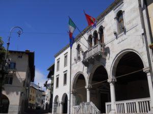 Palazzo Comunale a Gemona del Friuli - ph. Ufficio IAT
