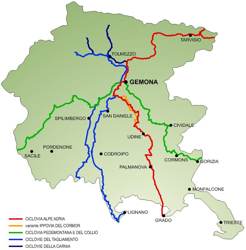 Cycling - Gemona del Friuli