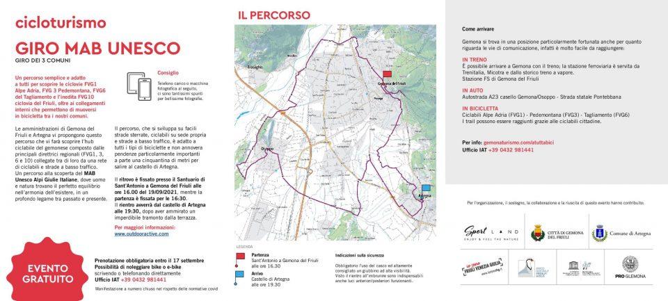 A Tutta Bici - Pedalata MAB Unesco